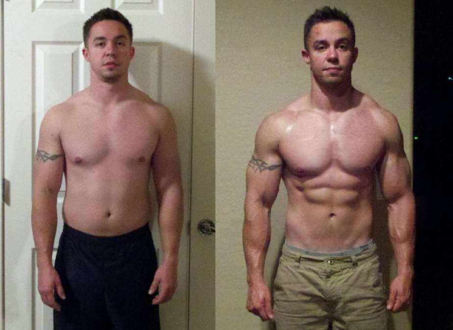 trenbolone before and after