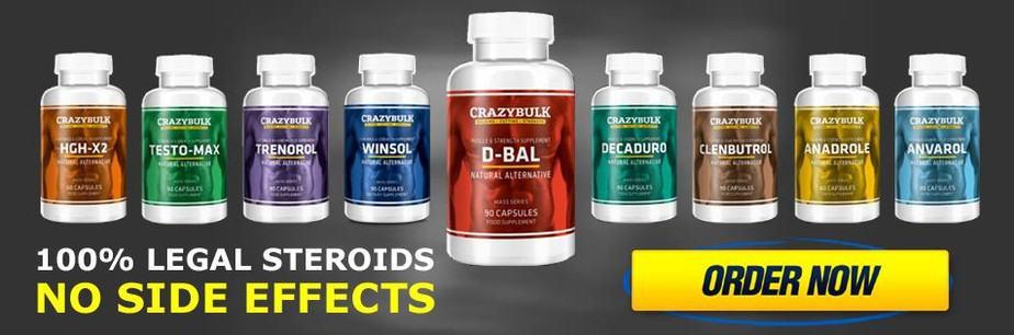 crazybulk products